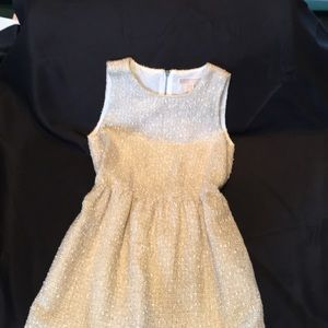 Michael Kors Gold Party Dress